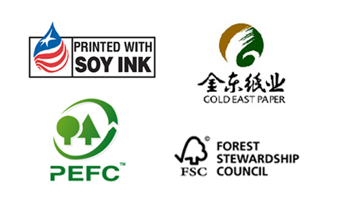 Soy Ink, Recycled Paper used by Kings Time Printing