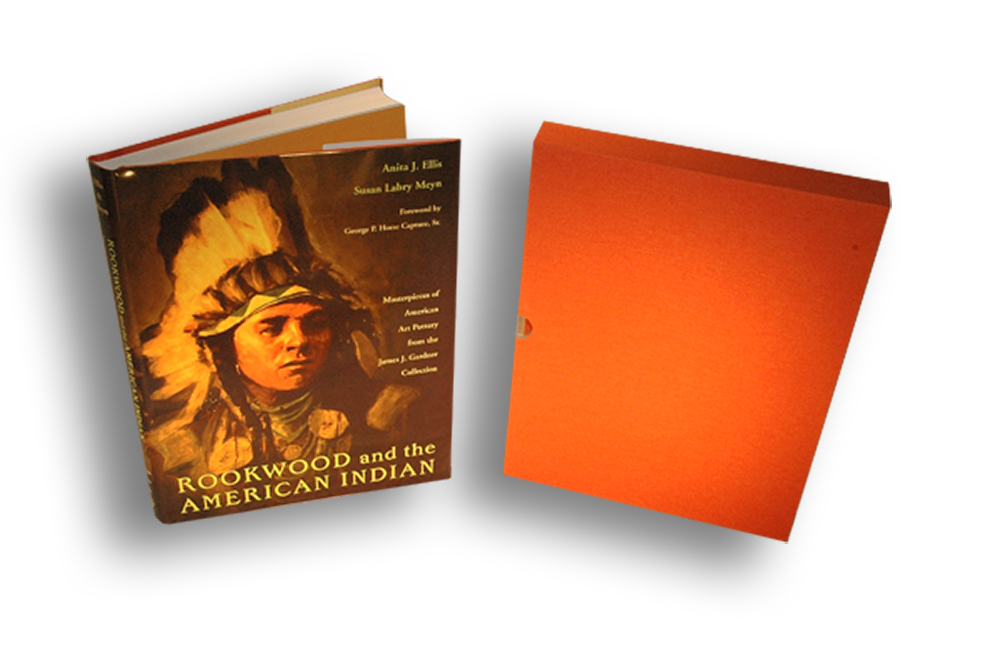 Four Color Book with Slipcase, 4 Color Gift Book